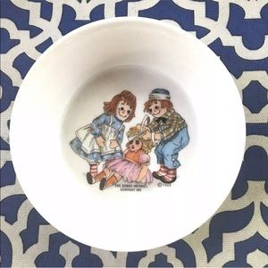 Other - Vintage Raggedy Ann And Andy Cereal Bowl 1960's